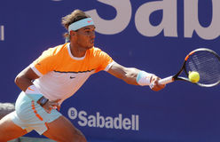 Jogador de ténis espanhol Rafa Nadal Fotografia de Stock Royalty Free