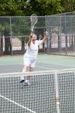 Jogador de ténis - ganhando Foto de Stock