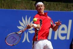 Jogador de ténis japonês Kei Nishikori Foto de Stock
