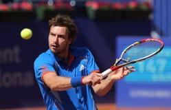 Jogador de ténis letão Ernests Gulbis Imagens de Stock