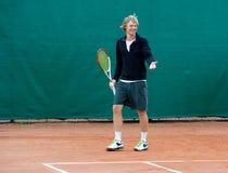 Jogador de tênis Foto de Stock