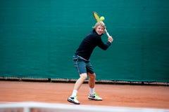 Jogador de tênis Foto de Stock Royalty Free