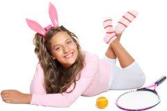 Jogador de tênis imagens de stock
