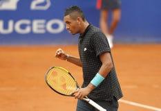 Jogador de tênis australiano Nick Kirgios Fotos de Stock Royalty Free