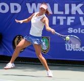 Jogador de tênis de Tsuji Kanami Japanese Fotografia de Stock