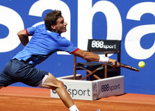 Jogador de tênis espanhol Pablo Carreno Busta Fotos de Stock Royalty Free