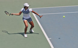Jogador de tênis indonésio Fotos de Stock Royalty Free