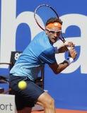 Jogador de tênis Denis Istomin do Uzbeque Imagem de Stock Royalty Free