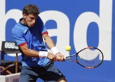 Jogador de tênis espanhol Pablo Carreno Busta Imagem de Stock