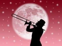 Jogador de trombeta Imagens de Stock