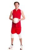 Jogador de voleibol Imagens de Stock