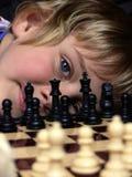 Jogador de xadrez Foto de Stock Royalty Free