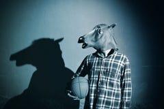 Jogador do cavalo imagens de stock