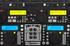 Jogador do DJ do cartão do SD Fotografia de Stock Royalty Free