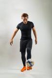 Jogador do futebol ou de futebol Imagem de Stock