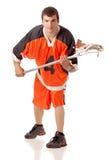 Jogador do Lacrosse Fotos de Stock