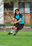 Jogador do Lacrosse Imagem de Stock