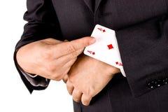 Jogador do negócio Fotografia de Stock Royalty Free