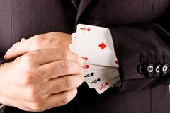 Jogador do negócio Imagem de Stock Royalty Free
