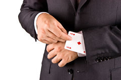 Jogador do negócio Fotos de Stock Royalty Free