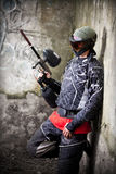Jogador do Paintball Fotos de Stock Royalty Free