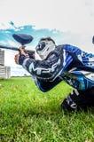 Jogador do Paintball Foto de Stock Royalty Free