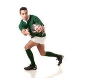 Jogador do rugby Imagem de Stock Royalty Free
