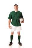 Jogador do rugby Fotografia de Stock