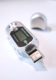 Jogador do USB MP3 Imagem de Stock Royalty Free