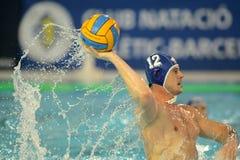Jogador eslovaco Tomas Bruder do waterpolo Foto de Stock