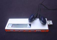 Jogador MP3 Foto de Stock