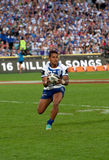 Jogador profissional do rugby - Ben Barba Imagens de Stock Royalty Free