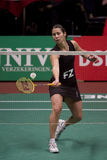Jogador superior Judith Meulendijks do Badminton Fotos de Stock Royalty Free