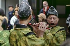 Jogadores de flauta