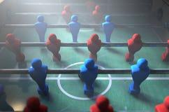 Jogadores de Foosball ilustração stock