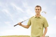Jogadores de golfe Foto de Stock Royalty Free