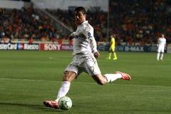 Jogadores de Real Madrid fotografia de stock