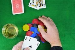Jogando 21 Fotos de Stock