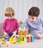 Jogando childs Imagem de Stock Royalty Free