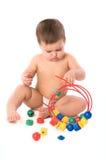 Jogando a criança Fotografia de Stock Royalty Free