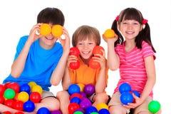Jogando crianças Foto de Stock Royalty Free