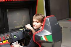 Jogando a máquina Foto de Stock Royalty Free