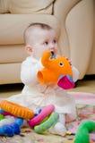 Jogando a menina Foto de Stock