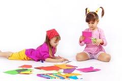 Jogando miúdos Fotos de Stock Royalty Free