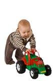 Jogando o bebê Imagem de Stock Royalty Free