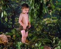 Jogando Tarzan Foto de Stock Royalty Free