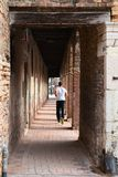 Jogga i Venedig royaltyfria foton