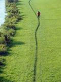 jogger γραμμή στοκ εικόνα με δικαίωμα ελεύθερης χρήσης