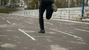 Jogger στο στάδιο φιλμ μικρού μήκους