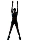 Jogger бегунка женщины Стоковая Фотография